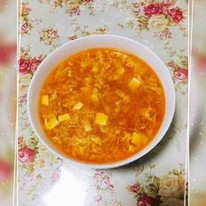 番茄豆腐鸡蛋羹