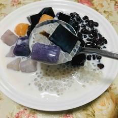 清凉Q弹手工芋圆甜品
