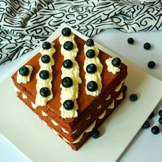 可可裸蛋糕