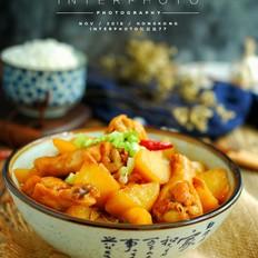 鸡小腿焖土豆