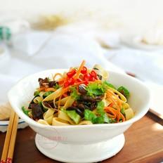 生菜拌豆皮