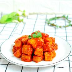 番茄脆皮豆腐