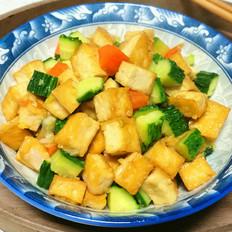黄瓜豆腐丁