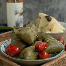 传统大红枣粽子