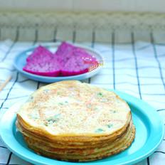 蔬菜鸡蛋早餐饼