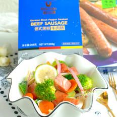 牛肉肠轻食沙拉