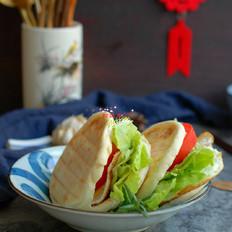 自制白吉馍早餐饼