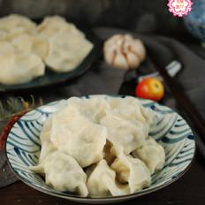 萝卜鸡蛋素饺子