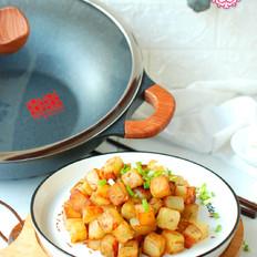 孜然土豆粒