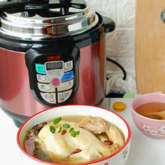 姬松茸鲜鸡汤