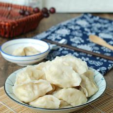白菜鸡蛋素饺子
