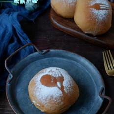 黑糖蓝莓酱面包