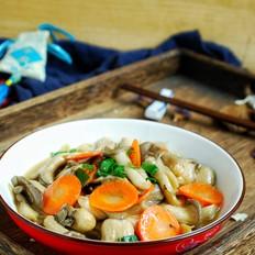 素炒秀珍菇