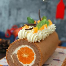 橘香蛋糕卷