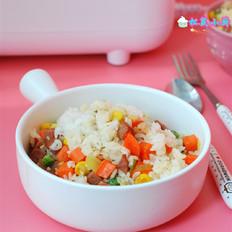 杂蔬五彩饭