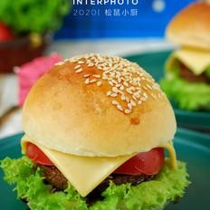黑椒牛肉汉堡