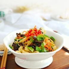 美味减脂菜——生菜拌豆皮