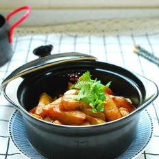 茄子焖土豆