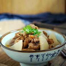 砂锅萝卜炖牛腩#最美不过中秋味#
