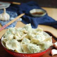 豇豆角鸡蛋素水饺