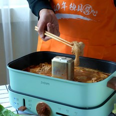 沧州名菜火锅鸡,一袋火锅料做一锅,软嫩入味超好吃