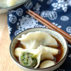 #冬至如大年#冬至吃饺子,这做法鲜嫩多汁不出汤,美味!
