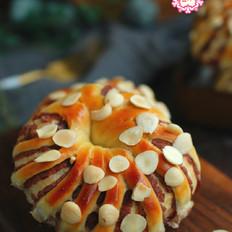 又香又软的杏仁面包,简单又营养