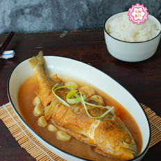 黄花鱼这做法,不粘皮不粘锅,香嫩入味好吃不怕胖