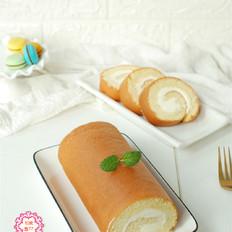 好吃的奶油蛋糕卷,原来做法这么简单