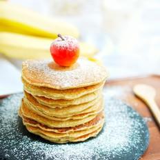 孩子最爱吃的香蕉松饼,香甜松软,做法超简单