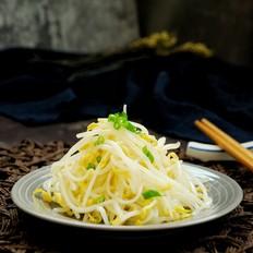 夏季减肥菜——凉拌绿豆芽,清爽不腻
