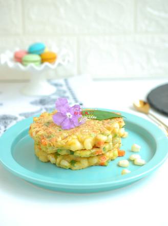 玉米鸡蛋饼的做法