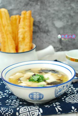 自制豆腐脑汤的做法