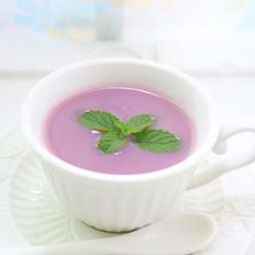 紫薯香芋小麦糊