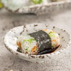 西兰花海苔饭团