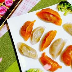 多彩水晶蒸饺