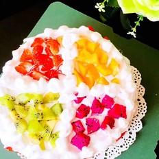 缤纷水果生日蛋糕