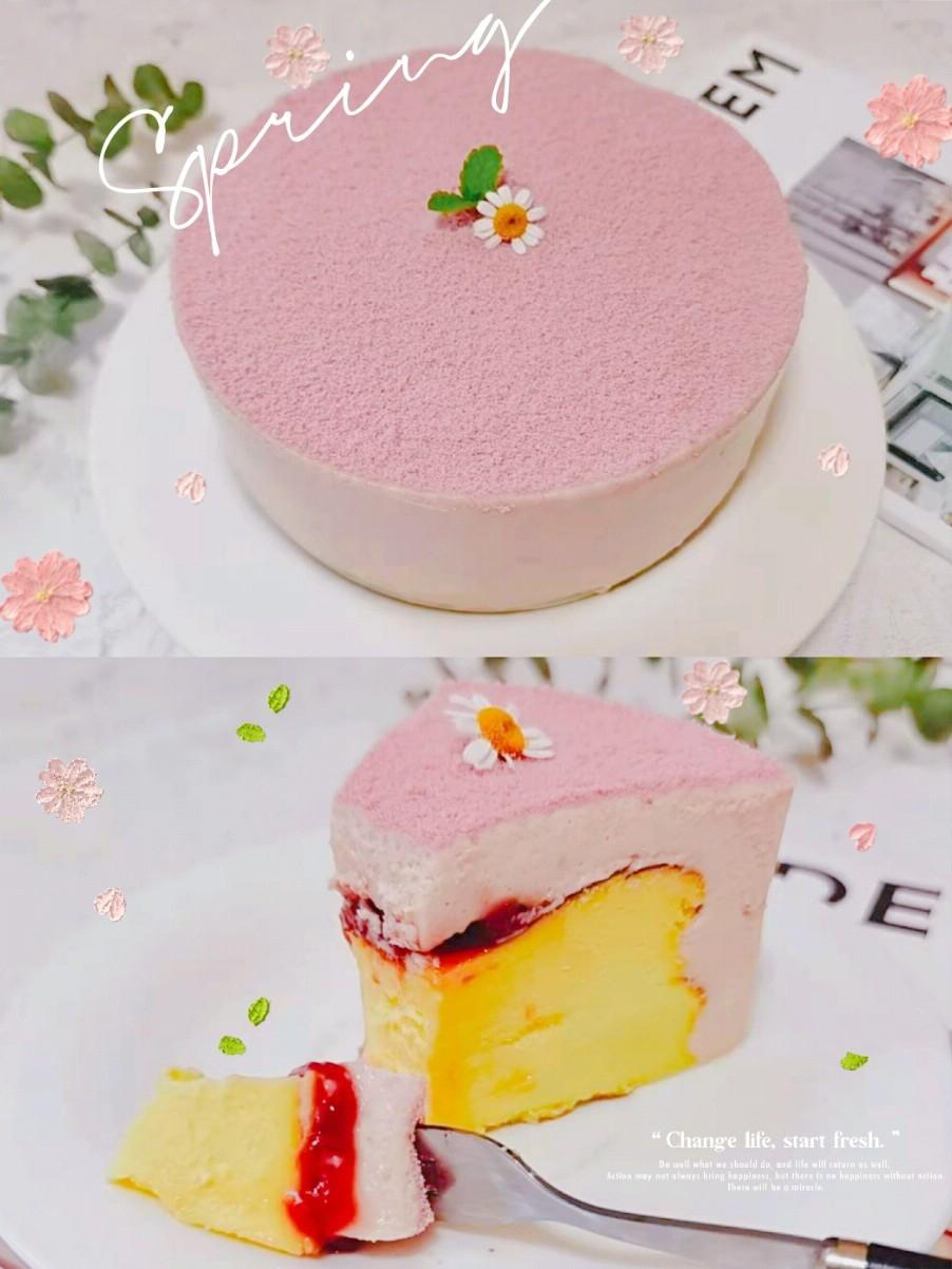 粉红色的回忆——草莓慕斯巴斯克