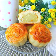 蜂蜜奶黄馅月饼