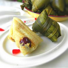 红枣糯米粽子