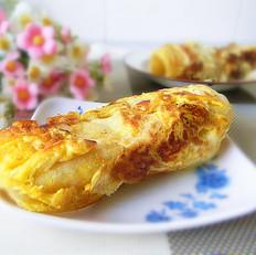 油盐鸡蛋饼