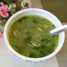 冬瓜虾米汤