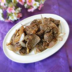 葱炒牛肉片