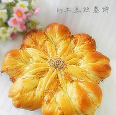肉松太阳花面包