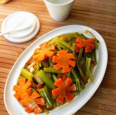 酱香芹菜胡萝卜