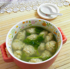 清水豆腐肉丸