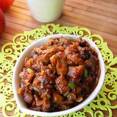 香菇肉末酱