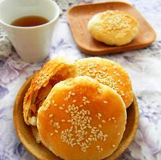芝麻糖酥饼
