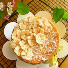 和果子皮裱花蛋糕