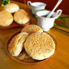 芝麻椰香糖酥饼